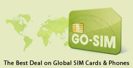 Get the best prices and coverage on global cellphone SIM cards!