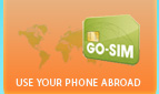 Use your cellphone while traveling with inexpensive Go-SIM SIM Cards